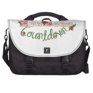Countdown Laptop Messenger Bag