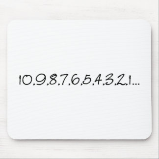 Countdown Mouse Pad