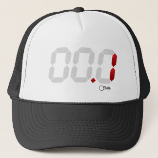 Countdown Timer Game Clock Buzzer Beater Trucker Hat