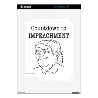 Countdown to impeachment (Trump) Skins For The iPad 2