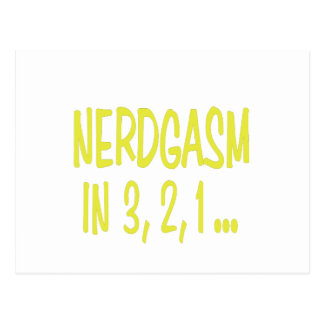 Countdown to Nerdgasm Postcard