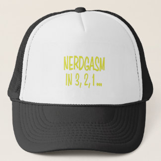 Countdown to Nerdgasm Trucker Hat