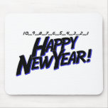 Countdown To New Year Mouse Pad