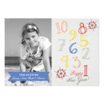 Countdown to New year Personalized Announcement