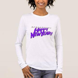 Countdown To New Year Purple Long Sleeve T-Shirt