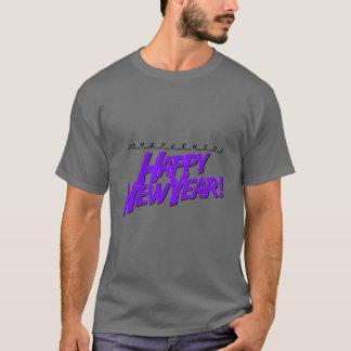 Countdown To New Year Purple T-Shirt
