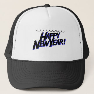 Countdown To New Year Trucker Hat