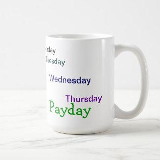 Countdown to Payday Coffee Mug