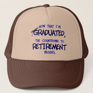 Countdown to Retirement hat