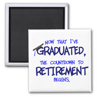 Countdown to Retirement Magnet