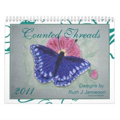 2011 cross stitch calendar