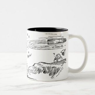 Counter Battery Fire Two-Tone Coffee Mug
