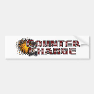 Counter Charge Bumper Sticker