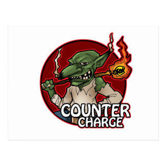 Counter Charge Postcard