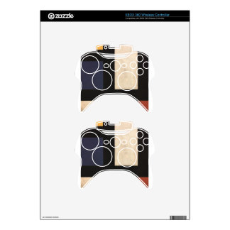 Counter Composition IV by Theo van Doesburg Xbox 360 Controller Skin