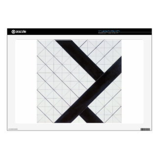 Counter composition VI by Theo van Doesburg Decals For Laptops
