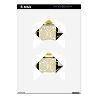 Counter composition VII by Theo van Doesburg Xbox 360 Controller Skin