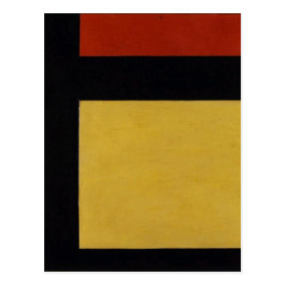 Counter composition X by Theo van Doesburg Postcard