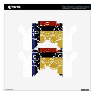 Counter composition X by Theo van Doesburg PS3 Controller Decals