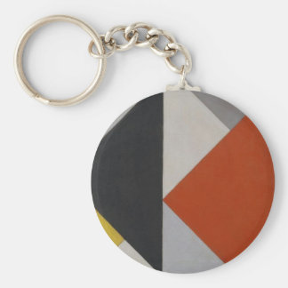 Counter composition XIII by Theo van Doesburg Keychain