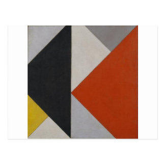 Counter composition XIII by Theo van Doesburg Postcard
