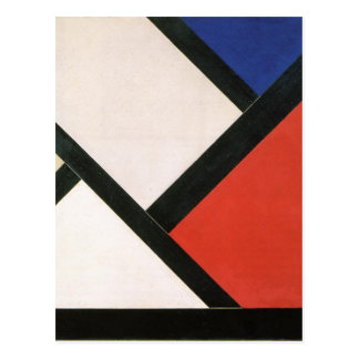 Counter composition XIV by Theo van Doesburg Postcard
