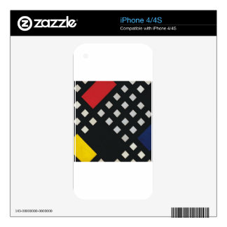 Counter composition XV by Theo van Doesburg Skin For The iPhone 4S