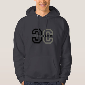 Counter-Culture in black Hoodie