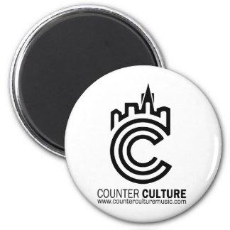 Counter Culture Underground Light 2 Inch Round Magnet