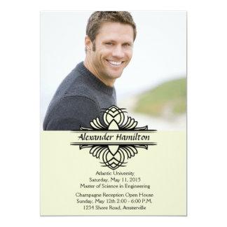 """Counter Part Photo Graduation Invitation 5"""" X 7"""" Invitation Card"""