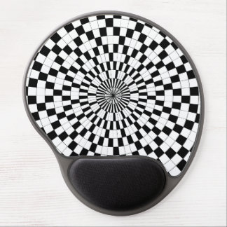 Counter Spirals by Kenneth Yoncich Gel Mouse Pad