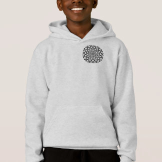 Counter Spirals by Kenneth Yoncich Hoodie
