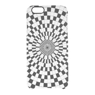 Counter Spirals Clear iPhone 6/6S Case