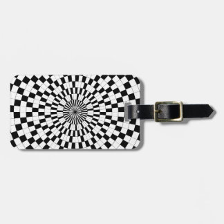 Counter Spirals Luggage Tag
