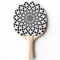 Counter Spirals Ping-Pong Paddle