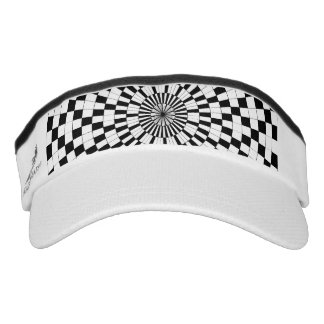 Counter Spirals Visor