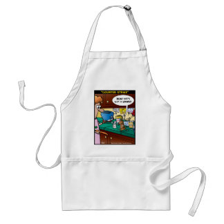 """""""Counter Strike"""" Adult Apron"""