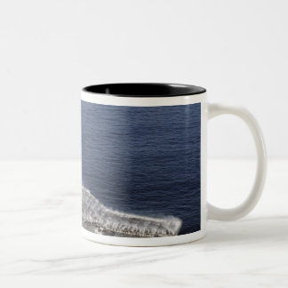 Countermeasure wash down sprinklers Two-Tone coffee mug