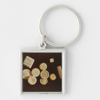 Counters and dice, Gallo-Roman Keychain
