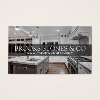 Countertops, Home Remodeling Construction Business Business Card