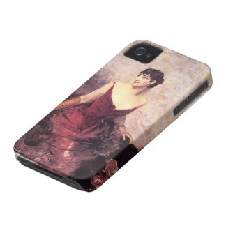 Countess de Rasty Seated by Giovanni Boldini Case-Mate iPhone 4 Case