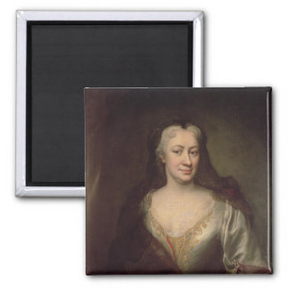 Countess Fuchs, Governess of Maria Theresa 2 Inch Square Magnet