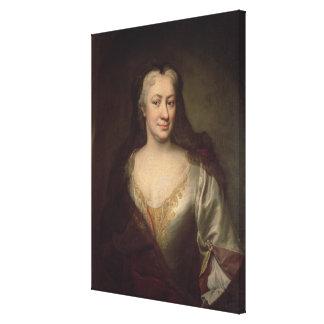 Countess Fuchs, Governess of Maria Theresa Canvas Print