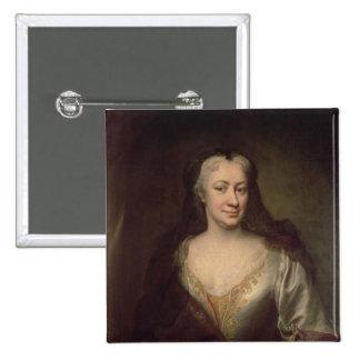 Countess Fuchs, Governess of Maria Theresa Pinback Button