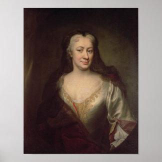 Countess Fuchs, Governess of Maria Theresa Poster