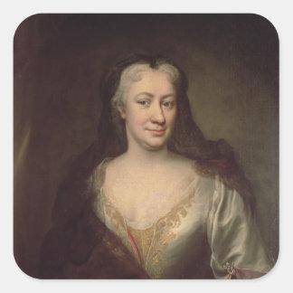 Countess Fuchs, Governess of Maria Theresa Square Sticker