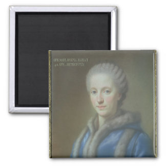 Countess Maria Josepha von Harrach 2 Inch Square Magnet