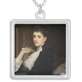 Countess of Airlie Square Pendant Necklace
