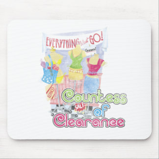 Countess of Clearance Mouse Pad