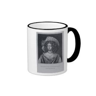 Countess of Kildare Ringer Coffee Mug